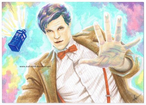 The Eleventh Doctor by starkanime