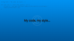 My Code by hellnest-hana