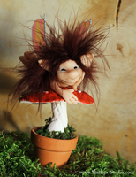Toadstool Pixie! by ShirleysStudio