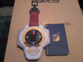 Takato's 2nd D-Power Digivice PaperCraft by SuperVegeta71290
