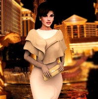 Lady Croft in Italy by ZayrCroft