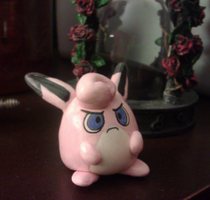 Chaos the Wigglytuff Figure by LaPopeArmadillo