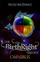 The Birthright Trilogy Book Cover by 3D-Fantasy-Art