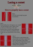 How to lace a corset by azdaja