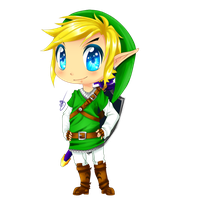 Chibi Link by animemanda