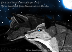 Request-Like diamonds by Solitaire-Loup