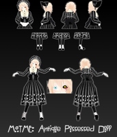 MOTME: Possessed Antique Doll by InvaderIka