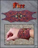 Elemental Bracelet - Fire by Ellygator