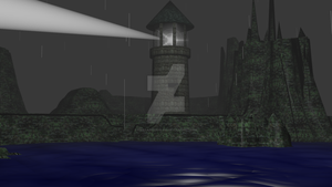 Lighthouse (3D Animation project) by FantasyFinale12