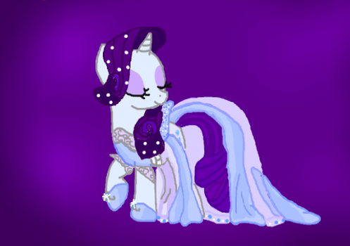 Other dress for Rarity by Valentine-MLP