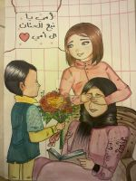 my drawing for mothers day by o0art0o9