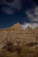 Badlands Pinnacle by Corvidae65