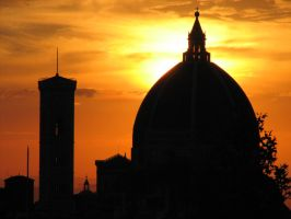 Florence, Sunset. by Dreamer1428