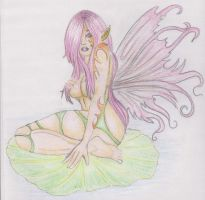 lilly pad faery by loveroffae