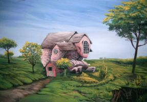 The Lonely House by Billybones