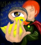 Mr Weasley and his rubber duck by elindor