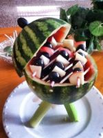 Watermelon grill! (i was bored xD) by KKIIRRBBYY173