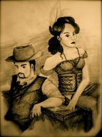 Western Couple by EMCarts