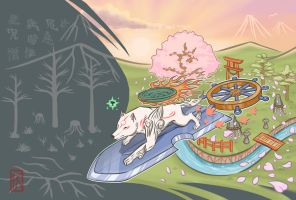 Okami: Rejuvenation by Taurus9