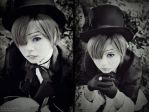 Ciel Phantomhive - Black in Back by NeeYumi