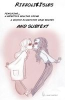 Rizzoli and Isles by batlesbo