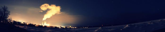 Presque Isle Panorama by TheCookiMonster
