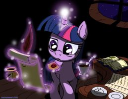Twilight Late Night Studying by LateCustomer