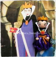 Chibi Charms: Disney's Evil Queen by Marielishere