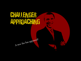 Barack obama approaches SSBB by LancerWolf