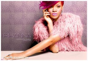 Colorize Rihanna 3 by shad-designs