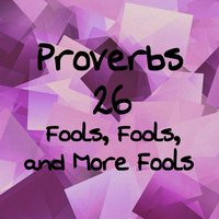 Proverbs 26 Fools, Fools, and More Fools by 1234RoseSmith