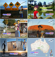 J+N Down Under--Stamps PROJECT by daanton