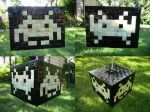 Space Invaders Lamp by LoDuris