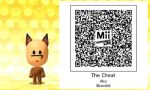 The Wrestleman's Yellow Dog's QR Code by MonstrousPegasister