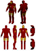 MDF Iron Man - version 2 - 3D Preview by bapabst