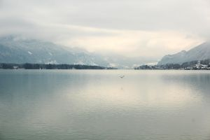 Wolfgangsee In Winter by xcxNinuixcx