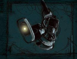 Portal 2: Oh, it's you... by lia-a-eastwood
