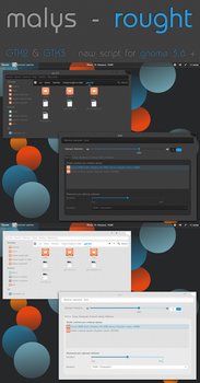 malys - rought 2.0  for  gnome 3.6 by malysss