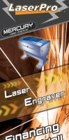 Laserpro Promotional Tarp by smokejaguar