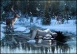 Nymph of the Ice ( Chtuluh 2015 ) by chtuluh2