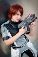 Mass Effect 2: Gaby by Quail-Chick