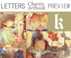 LETTERS Artbook Preview-k by Re-SilverFlare