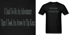 Skyrim I Used To Be An Adventurer Shirt by Enlightenup23