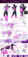 Mettaton Reference Sheet for Cosplayers and Artist by WalkingMelonsAAA