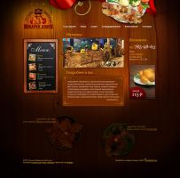 Restaurant inside page by shakis