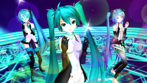 MMD - Freely Tomorrow by DiemDo-Shiruhane