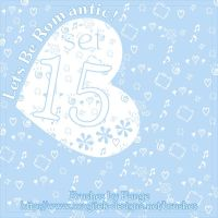 Set 15 - Let's Be Romantic by pange