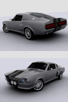 Mustang Shelby Gt500 1967 by Siegfried-Ukr