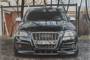 Audi S3 by AnnaWajandArt