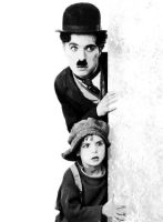 Charlie Chaplin (The Kid) Paint By Number Art Kit by numberedart